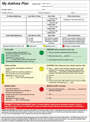 Figure. My Asthma Pl... - Click to enlarge in new window